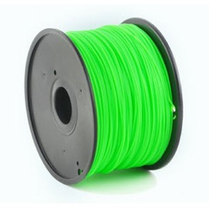 3D FILAMENT ABS green 1,75mm 1kg