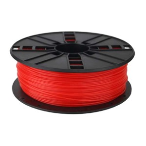 3D FILAMENT PLA Fluorescent Red, 1.75 mm, 1 kg