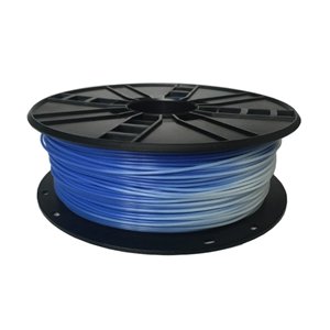 3D FILAMENT PLA BLUE to WHITE 1.75 mm, 1 kg