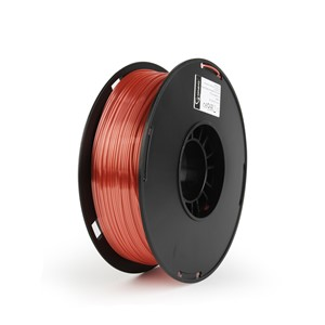 3D FILAMENT Polymer Glossy Silk Red, 1.75 mm, 1kg