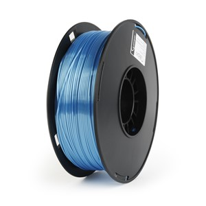 3D FILAMENT Polymer Glossy Silk Blue, 1.75 mm, 1kg