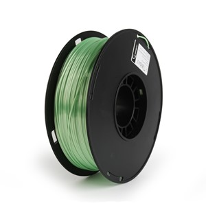 3D FILAMENT Polymer Glossy Silk green, 1.75 mm, 1kg