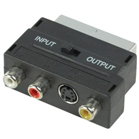 SCART ADAPTER HIGH END