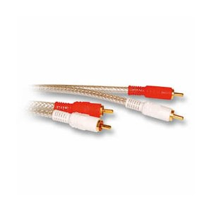 AUDIOKABEL 2xRCA M/M  10,0m HIGH QUALITY