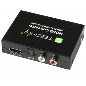 HDMI AUDIO EXTRACTOR SPDIF RCA TECHLY