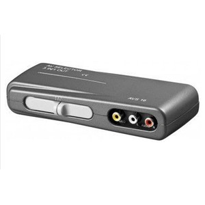 AUDIO-VIDEO SWITCH 3xRCA 3-VEIS GOOBAY
