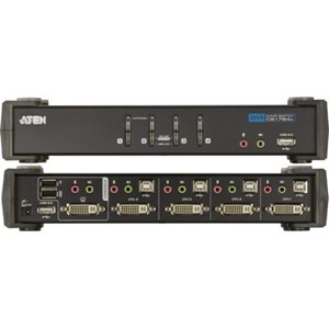 KVM Switch DVI 4 port  ATEN CS1764A