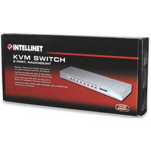 KVM Switch I-VIEW 8 porter