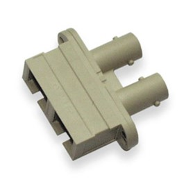 FIBERADAPTER SC- ST MM BEIGE