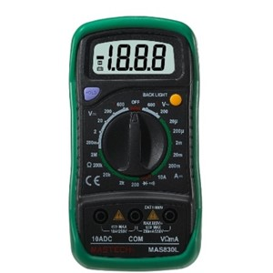 Kompakt Digital Multimeter MAS830LH