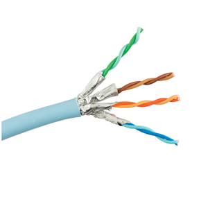 KABEL CAT6A U/FTP 10GBASE-T600 MHz 23 AWG SOLID 305m