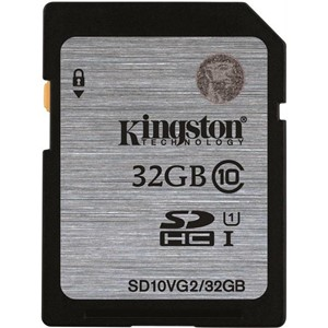MINNEKORT SDHC 32GB CLASS 10 KINGSTON