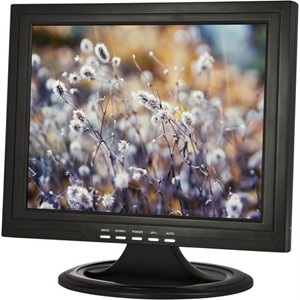 "MONITOR 15"" m/HDMI/VGA/KOMPOSITT VIDEO"