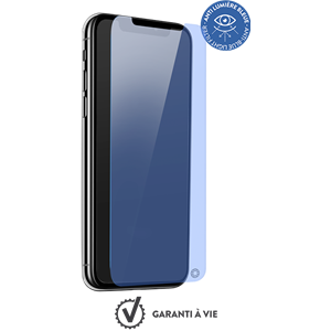 BESKYTTELSESGLASS FOR iPhone XS MAX FORCE GLASS ANTI-BLUE