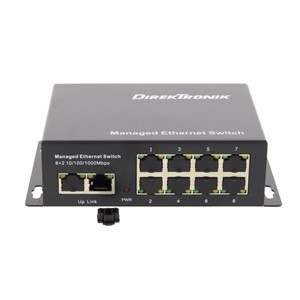 NETTVERKSWITCH 8+2 PORT PoE+ SWITCH
