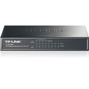 TP-LINK GIGABIT 8-PORT PoE SWITCH 4+4 TL SG1008P