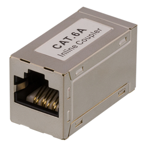 ADAPTER CAT6A FTP 1 TIL 1