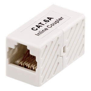 ADAPTER CAT6A UTP 1 TIL 1