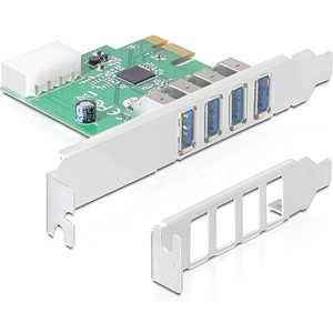 USB 3.0 PCI-EXPRESS LOW-P 4xUSB