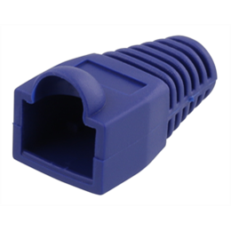 CABLE BOOT RJ45 Ø 6.8mm BLÅ