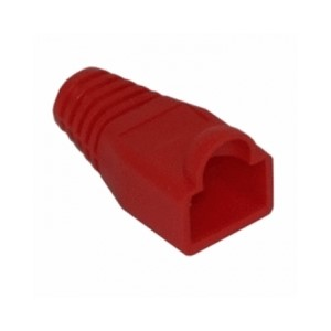 CABLE BOOT RJ 45 Ø 5.5mm RØD