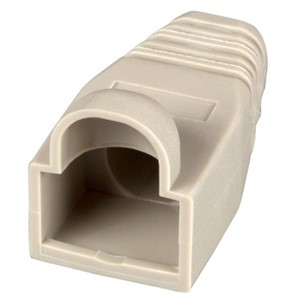 CABLE BOOT RJ45 CAT6/6A Ø 6.6mm GRÅ