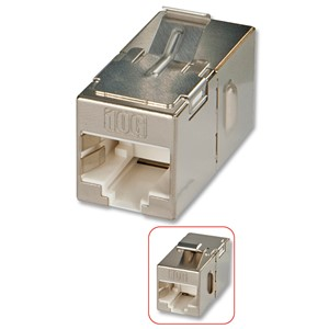 KEYSTONE ADAPTER CAT6A RJ45 STP